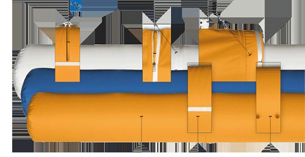 Các Loại Vật Liệu Sử Dụng Sản Xuất Ống Gió Vải FabricAir