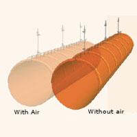 ống gió vải