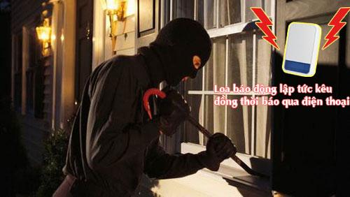 hệ thống chống trộm gia đình